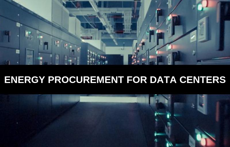 energy procurement for data centers